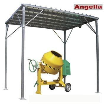 Box prefabbricati - Tettoia per betoniera
